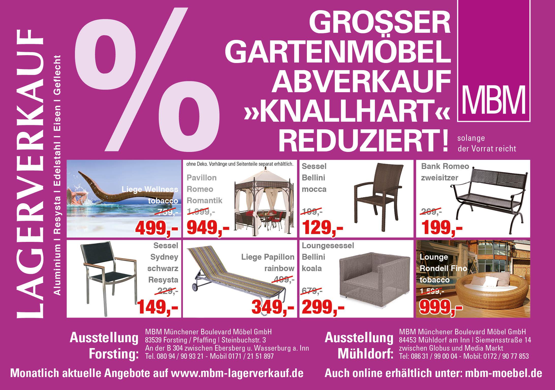 Gartenmöbel Mühldorf - Design