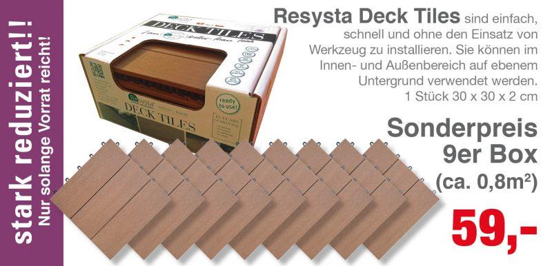 RESYSTA Deck Tiles