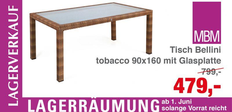 Tisch Bellini
