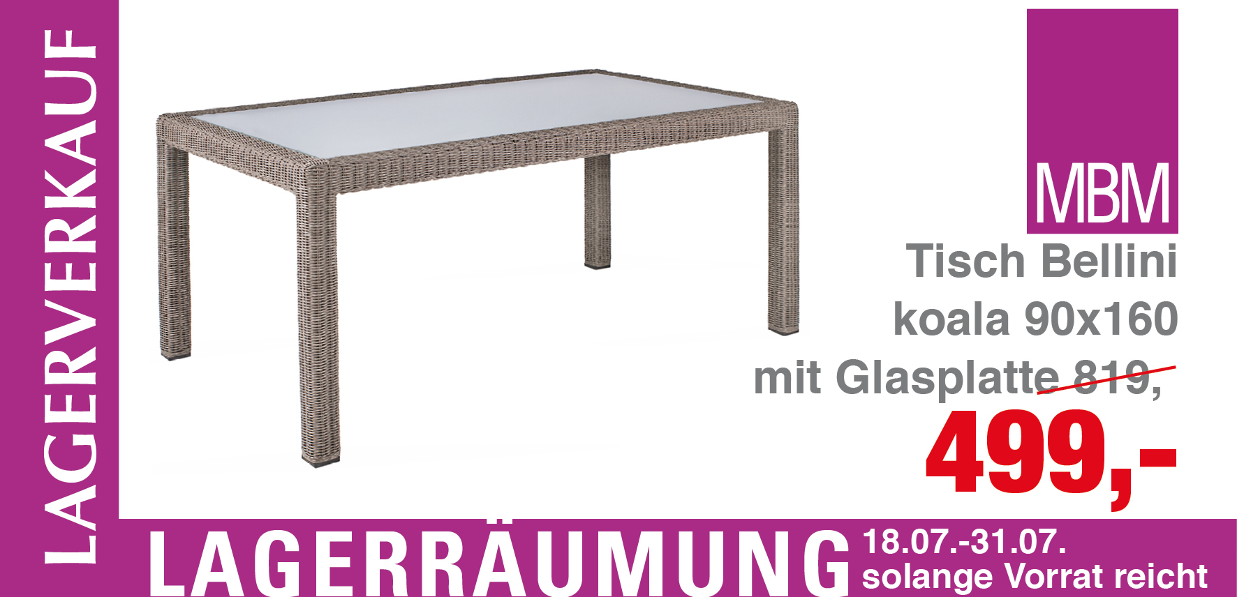 gartentisch rund metall mbm. Black Bedroom Furniture Sets. Home Design Ideas