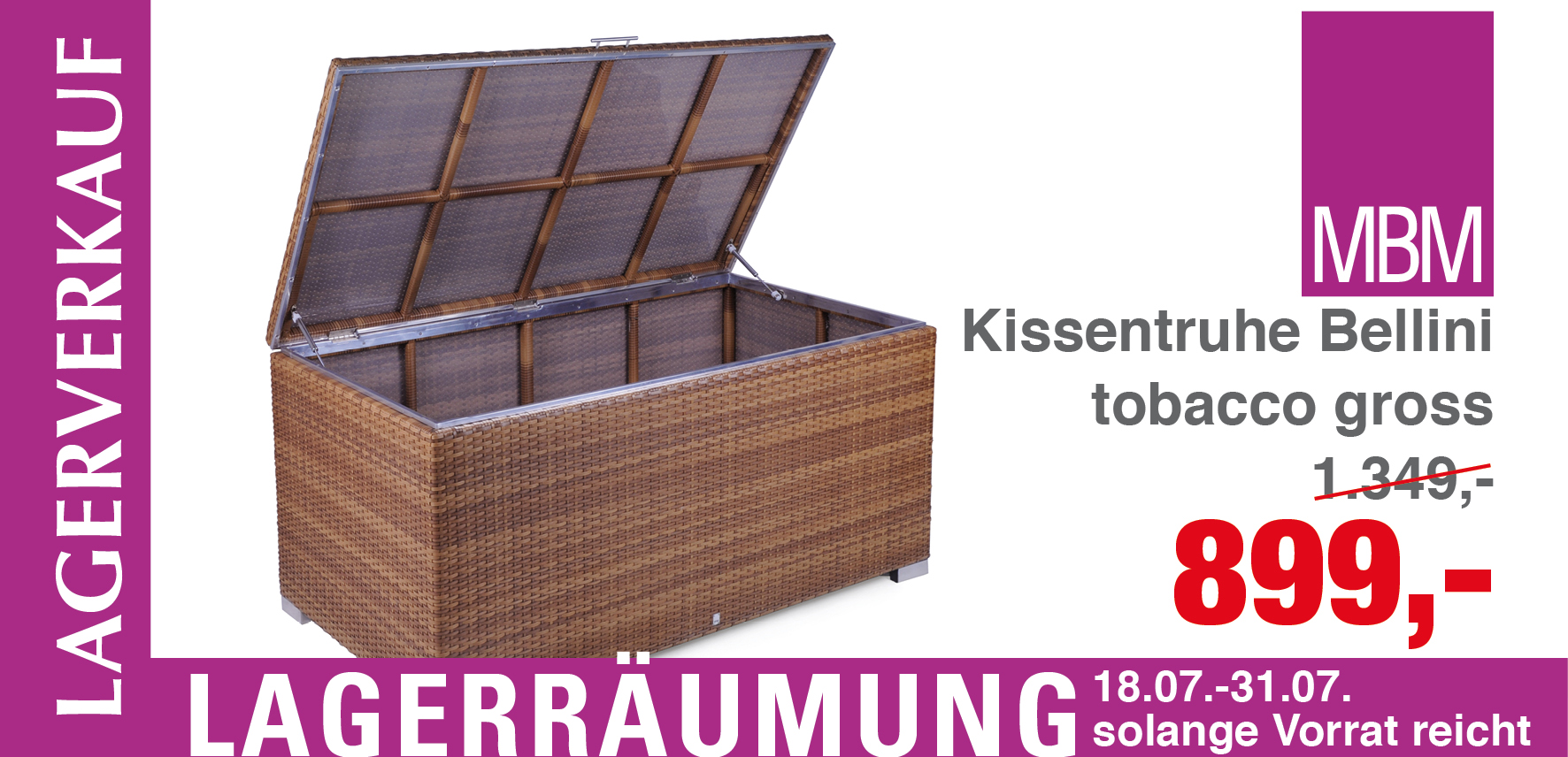 kissentruhe archive mbm gartenm bel lagerverkauf. Black Bedroom Furniture Sets. Home Design Ideas