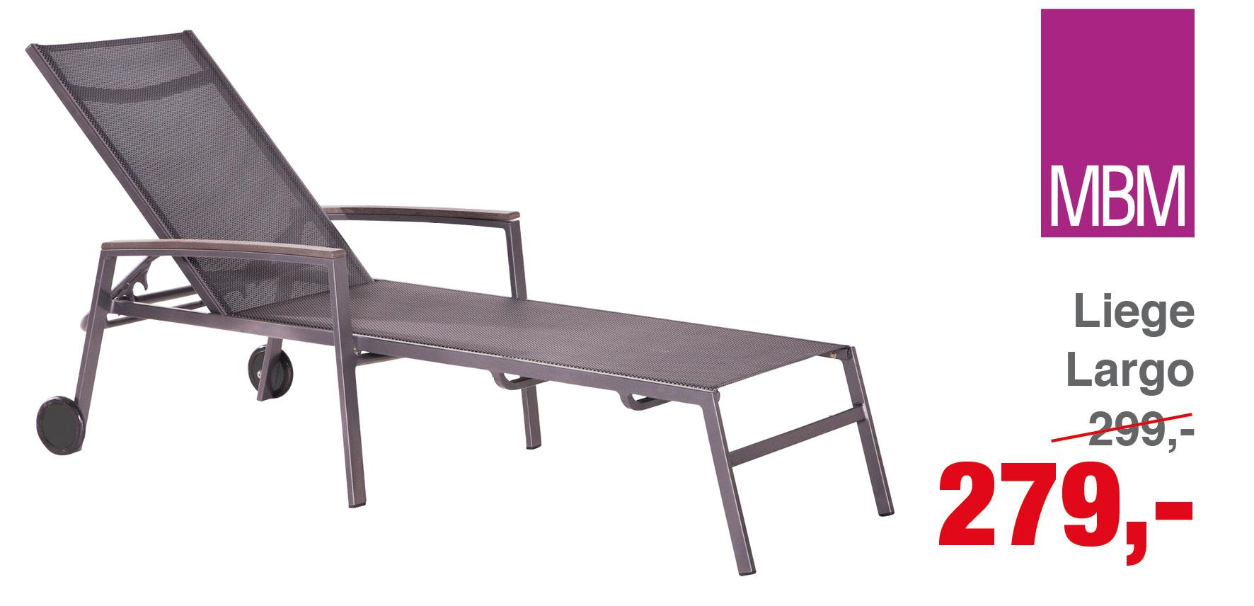 liege largo mbm gartenm bel lagerverkauf. Black Bedroom Furniture Sets. Home Design Ideas