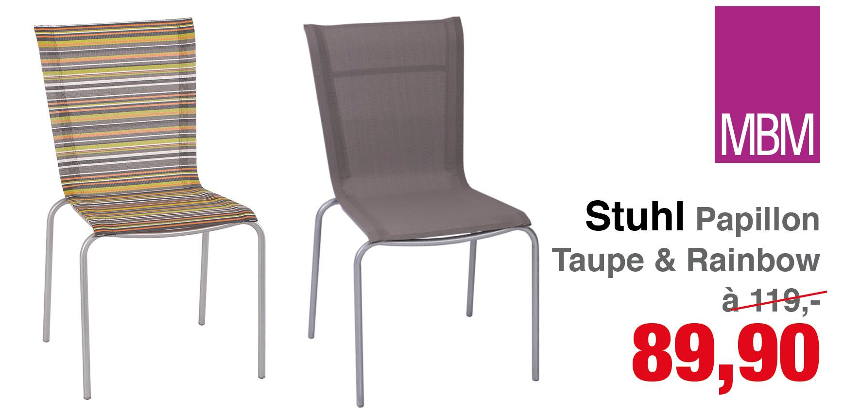 stuhl papillon mbm gartenm bel lagerverkauf. Black Bedroom Furniture Sets. Home Design Ideas