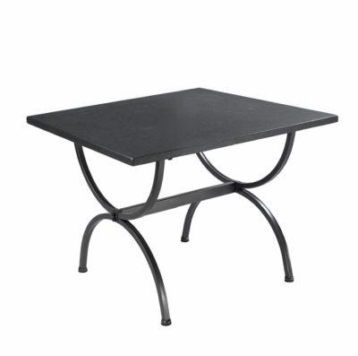 Tisch Schmiedeeisen graphite 90 x 90 cm